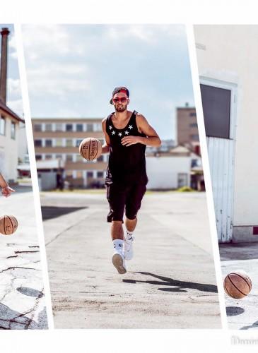 Basketball Street Style für Männer