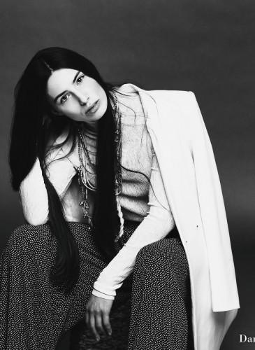 Fashion Styling white coat