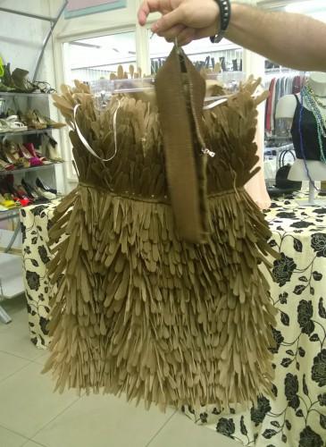 Kleid Kapstadt Südafrika