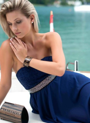 blaues Kleid Wedenstein