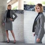 Frau Make up Business und Bewerbung