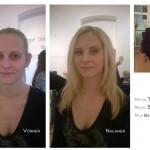 before after fashion makeup artist contour