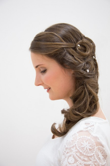 wedding hairstyle bridal hair haare