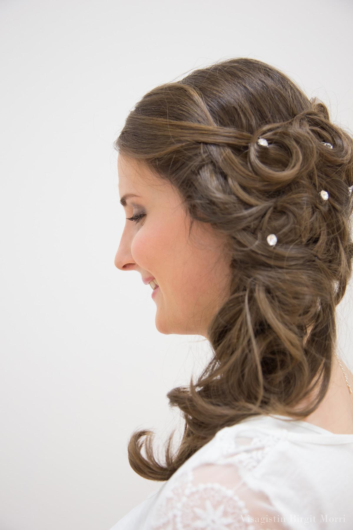 Brautfrisur Beispiel Haare Hochzeit Klagenfurt Kaernten 3